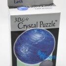 DIY 3D Crystal Puzzle Jigsaw 40 pieces Kid Toy Model Decoration - Blue Earth