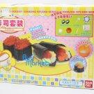 JAPAN BANDAI Konapun Sushi Kid Toys Cooking Kitchen Set with DVD & Tools