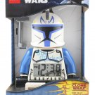New Lego Minifigure Toy Star Wars Captain Rex Clone Digital LCD Alarm Clock NIB