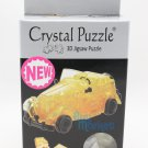 3D Crystal Puzzle Jigsaw 53 pieces Toys Decoration - Vintage Classic Yellow Car