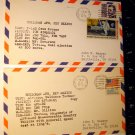2--1973 FIRST DAY COVERS-SPACE PROGRAM-HOLLOMAN AFB FINE
