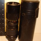 VIVITAR TELE-ZOOM 85mm-205mm   1:38 CAMERA LENS W/CASE