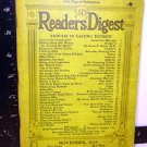 READERS  DIGEST-NOV  1935-- COMPLETE--VERY GOOD HISTORY OF EVENTS