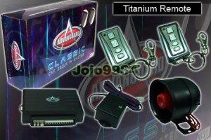 ADVANGUARD M25 TITANIUM REMOTE CAR ALARM SYSTEM