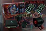 ADVANGUARD AM006 LCD DISPLAY EVO CAR SECURITY ALARM SYSTEM