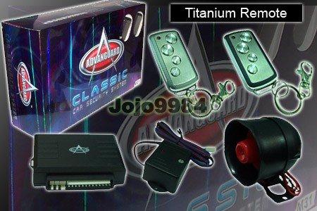 ADVANGUARD M19 TITANIUM REMOTE CAR ALARM