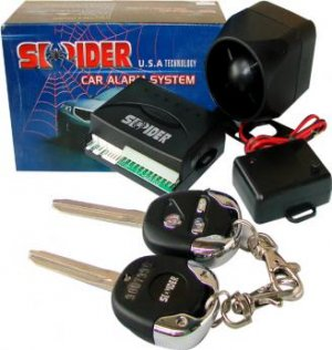 SPIDER CAR ALARM SYSTEM(USA TECHNOLOGY)