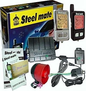 STEELMATE 898G 2-Way Car Alarm System with Auto Start