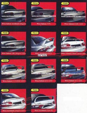 2007 - Latest Spoiler - Catalog 1