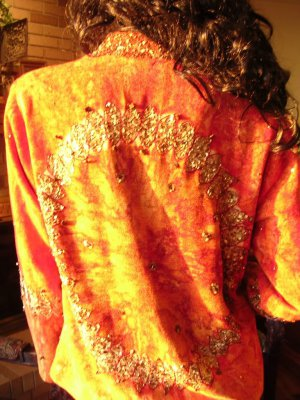 NWT SOFT SURROUNDINGS SUNSET Art To Wear JACKET SMALL  Originally  $144
