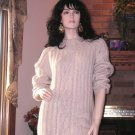 NIP SOFT SURROUNDINGS MY BOYFRIEND'S SWEATER WHEAT $128 Small