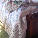 NEW SOFT SURROUNDINGS AMALFI QUILT QUEEN + 1 SHAM