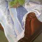 SOFT SURROUNDINGS COTTON MARRAKESH COTT/LINEN QUILT QUEEN