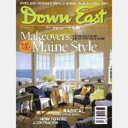 DOWN EAST March 2006 Magazine of Maine  3/06 ANGELA ADAMS Heal Black Granite Quarry MONSON