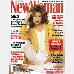 NEW WOMAN May 1993 Magazine JULIANNE PHILLIPS cover Niki Taylor Cover Girl ad