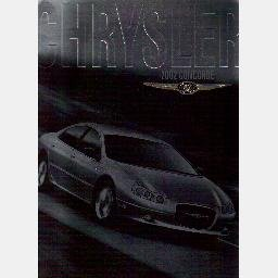 2002 CHRYSLER CONCORDE Sales Brochure Catalog Booklet LX LXi LIMITED