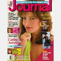 LADIES HOME JOURNAL April 1989 Magazine 4/89 JACLYN SMITH cover Melanie Griffith