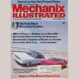 MECHANIX ILLUSTRATED September 1973 magazine McCahill Reports: PANTERA L FORD MUSTANG II