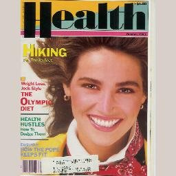 HEALTH Magazine October 1983 Cover Model KIM DELANEY How the Pope John Paul II Keeps Fit