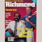 RICHMOND August 1993 Magazine Premiere Issue BEN HAMLIN JIM DUNCAN Best & Worst