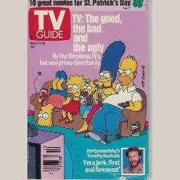 TV GUIDE March 17 1990 Magazine SIMPSONS thirtysomething TIMOTHY BUSFIELD China Beach RICKY LAKE