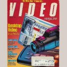 "VIDEO March 1994 MAGAZINE HITACHI VT-S772A SONY SLV-R1000 S-VHS-VCR, MITSUBISHI CS-27701 27"" TV"