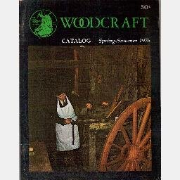 WOODCRAFT SUPPLY CORP Woburn MA catalog Spring-Summer 1976 Wood Woodworking Carving Planes
