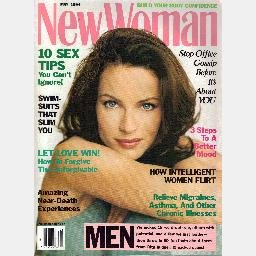 NEW WOMAN May 1994 Magazine MARY MIZE Cover Model