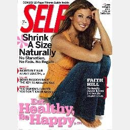 SELF Magazine September 2006 FAITH HILL Cover