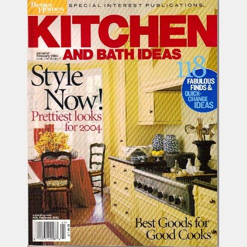 KITCHEN BATH IDEAS January February 2004 BETTER HOMES GARDENS Special Interest ENGLISH KITCHEN