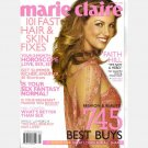MARIE CLAIRE January 2006 Magazine FAITH HILL's Katrina Rescue Story Jenn Carson-Dad a Serial Killer