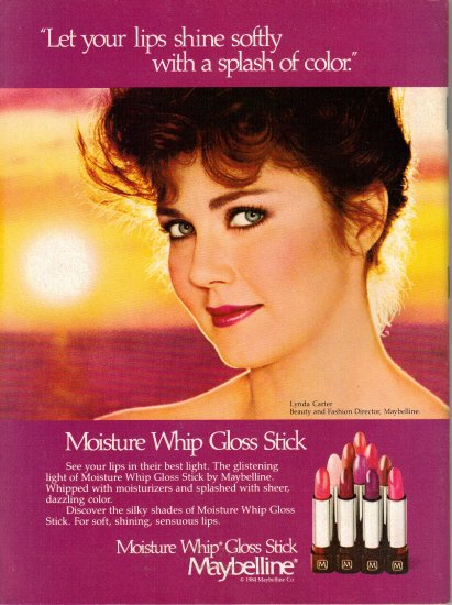 WEIGHT WATCHERS May 1984 Magazine LYNDA CARTER Maybelline ad Rebecca Holden of KNIGHT RIDER