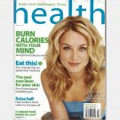 HEALTH March 2005 Magazine ELISABETH ROHM cover Elizabeth POLENTA RECIPIES Natural Beef