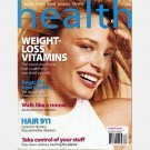 HEALTH April 2005 Magazine MELISSA BROWN Cover Salt vs Heartburn Time Inc