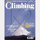 CLIMBING July 2004 Magazine 232 K2 TIMELINE Fred Rouhling PATRICK BERHAULT Twins Tower Scott Corey