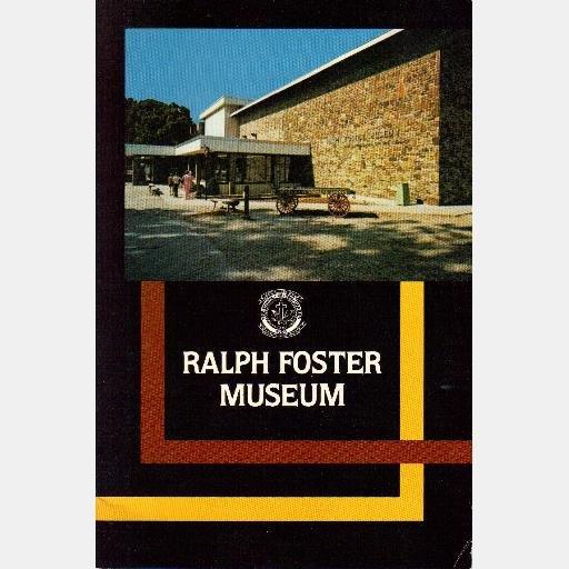 RALPH FOSTER MUSEUM book booklet 1979 Thomas Hart Benton Dean W Myers School of Ozarks