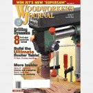 WOODWORKER'S JOURNAL Vol 27 No 1 February 2003 Router Table TABORET Glazing Staining DRILL PRESSES
