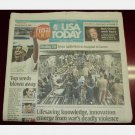 USA TODAY March 27 2006 Monday George Mason OT Win Final Four Healing GI's Buck Owens