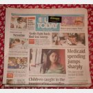 USA TODAY October 8 2007 Monday news newspaper Yanks Indians Red Sox Wisconsin Shootings