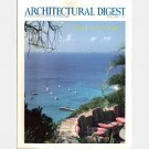 ARCHITECTURAL DIGEST August 1990 Magazine Mikhail Baryshnikov St Barthelemy Sardinia Nantucket Pond