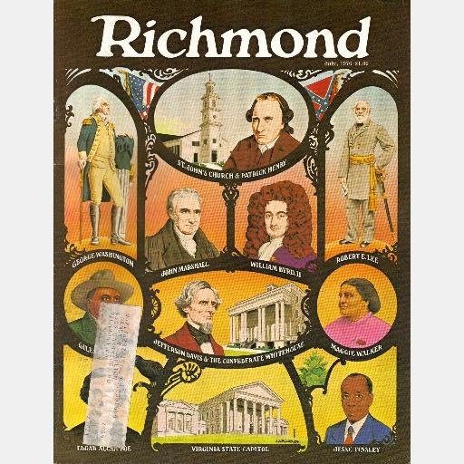 RICHMOND Magazine July 1976 VA Virginia FFV Regency Woods Ad