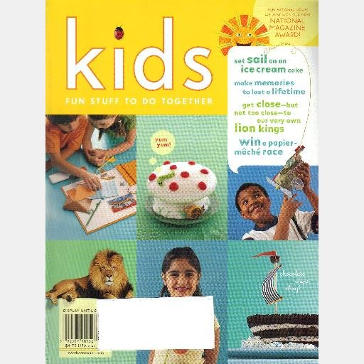 MARTHA STEWART KIDS SUMMER 2005 Magazine No 18 Potato Prints SECRET CODES Pet Lizard