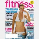 FITNESS August 2006 Magazine ANNIKA DOP cover