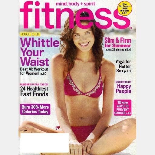 FITNESS Magazine July 2006 DANIELLA VAN GRAAS cover