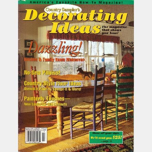 country sampler decorating ideas october 1994 magazine