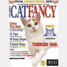 CAT FANCY July 2001 Magazine Turkish Angora Van