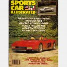 SPORTS CAR ILLUSTRATED November 1987 Magazine FERRARI TESTAROSSA SPYDER Maserati Biturbo