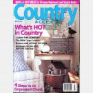 COUNTRY ACCENTS June July 2001 Magazine BLUE WHITE COTTAGE Stephanie Young Paducah KY