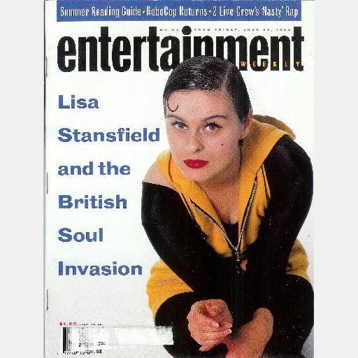 ENTERTAINMENT WEEKLY June 29 1990 Magazine No 20 LISA STANSFIELD RoboCop Returns