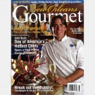 NEW ORLEANS GOURMET 2004 Q1 Magazine Cajun JOHN BESH Frank Brigtsen Gumbo